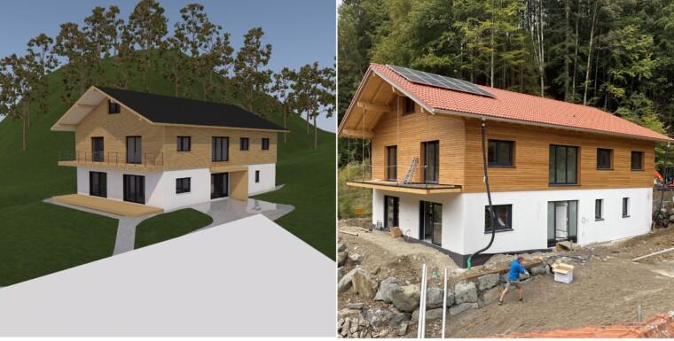 Planung und Ausführung Einfamilienhaus