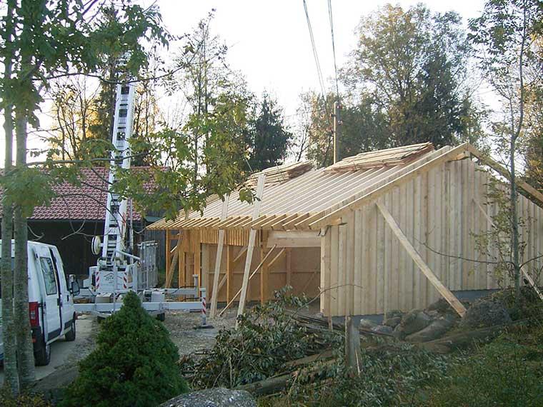 Wir sind Fachleute im Holzbau.