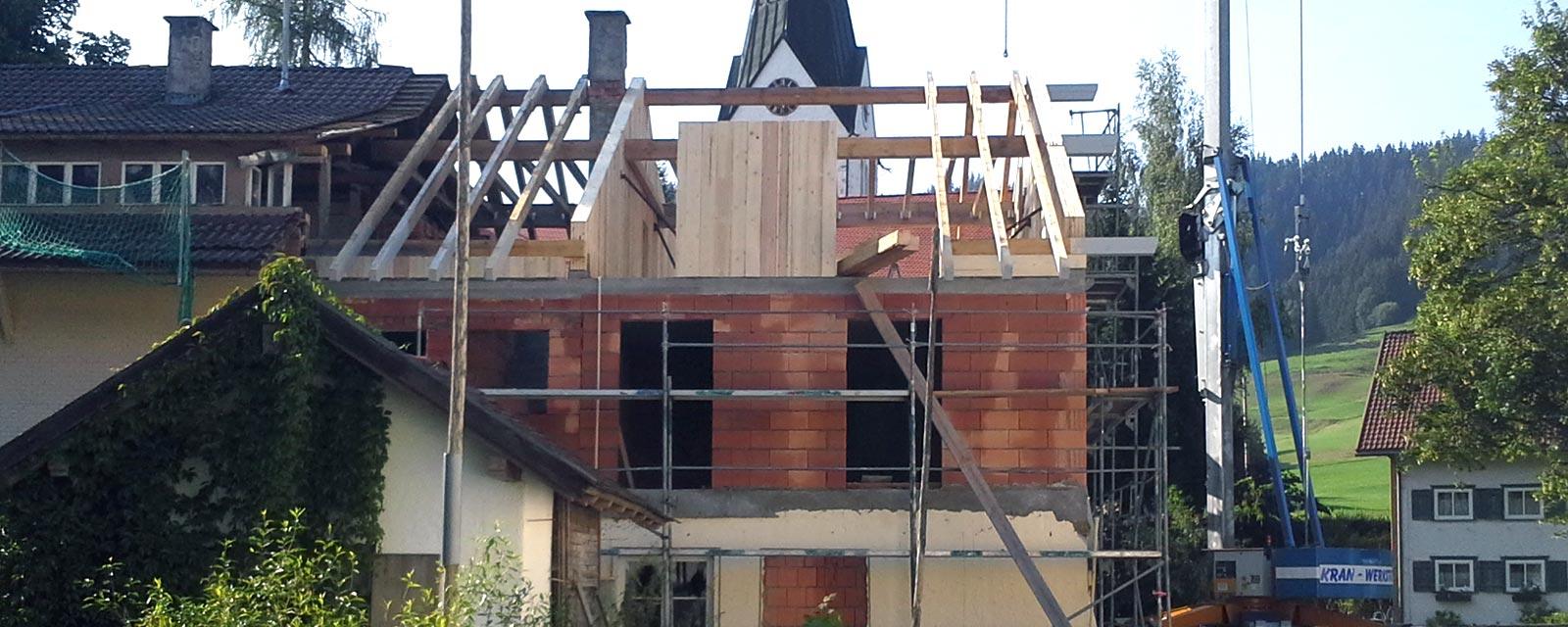 Dachstühle, Dachgauben, Dachfenster von Holzbau Merz