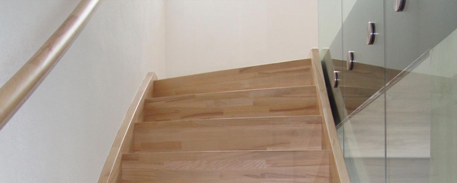 Holztreppen von Holzbau Merz