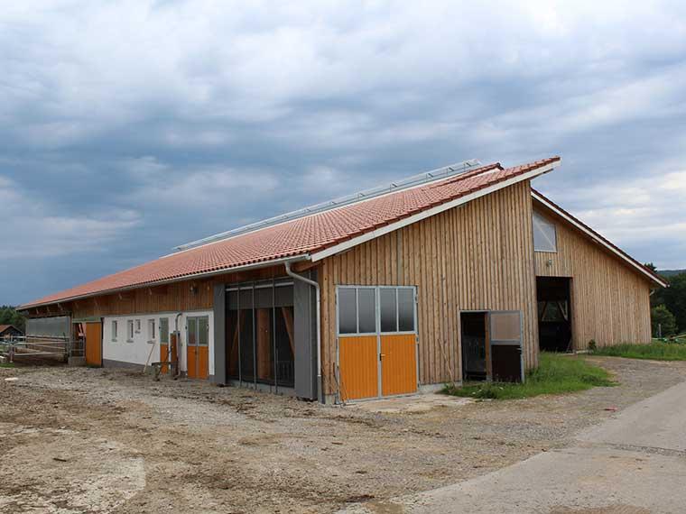 Landwirtschaftliche Bauten von Merz Holzbau