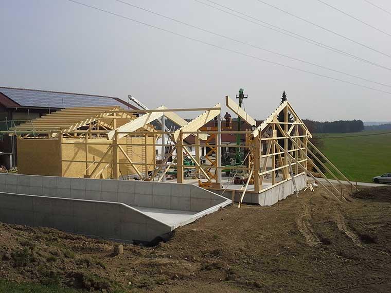 Landwirtschaftliche Bauten vom Meisterbetrieb mit Erfahrung