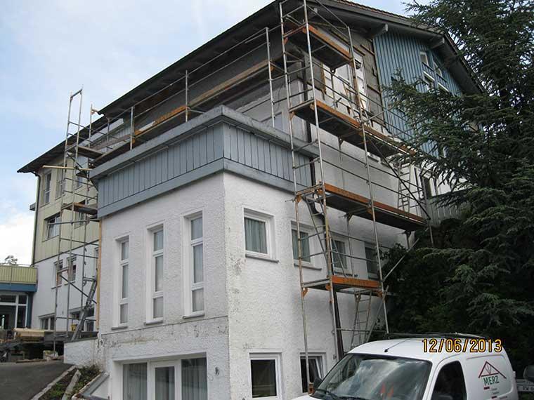 Sanierungsarbeiten mit Merz – vorher/nachher