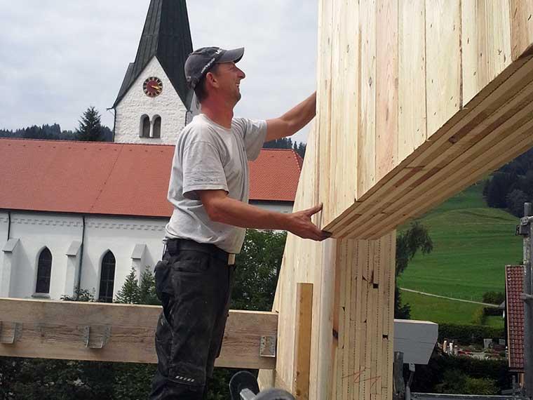 Sanierung von Holzbau Alfred Merz